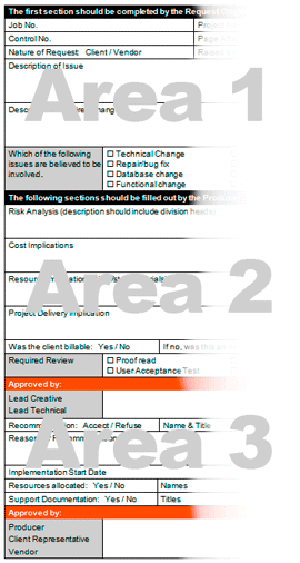 Change Request Form.  Change Management Form Template