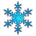 Large Single Snowflake