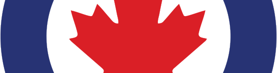RCAF logo up close